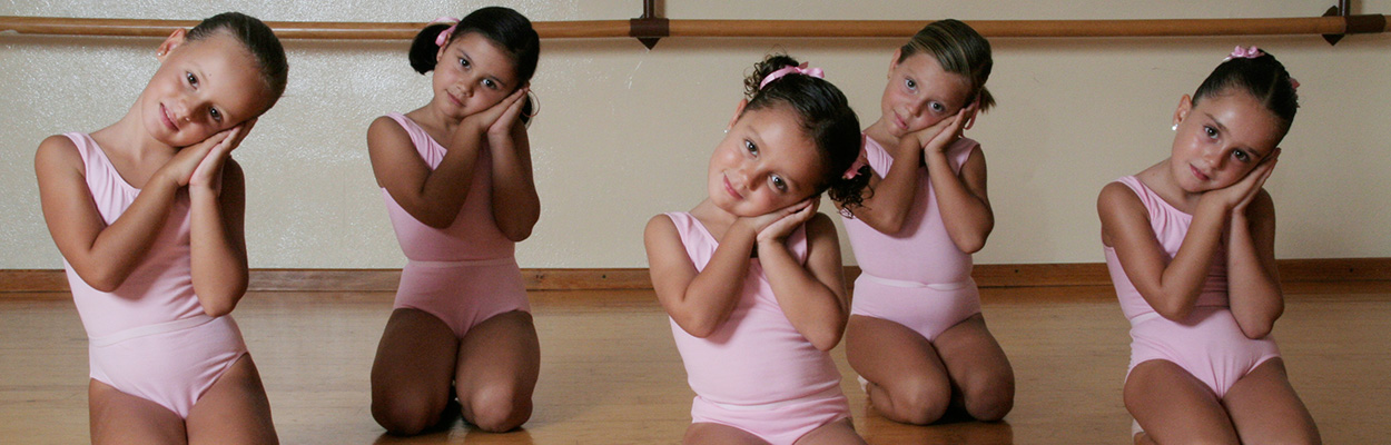 Clase de ballet para niños
